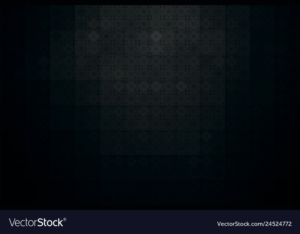 Dark abstract background with black tile