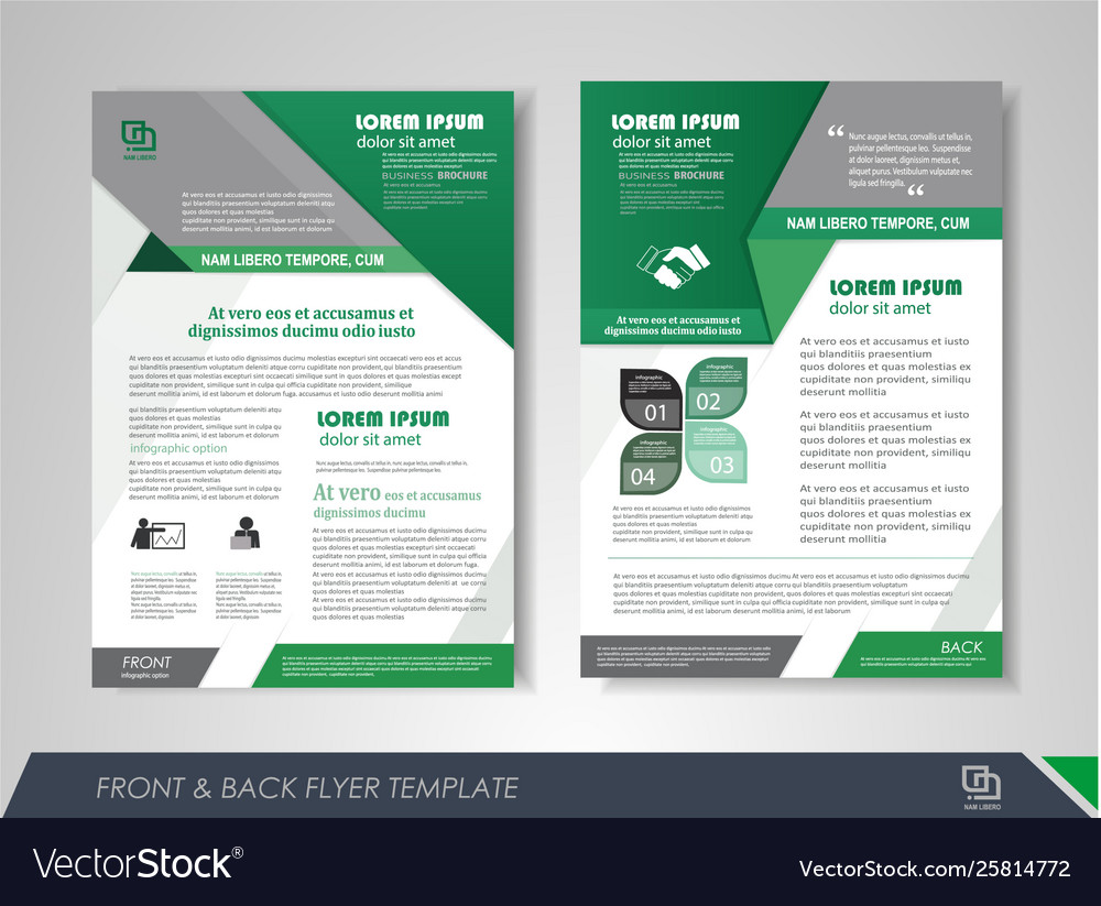 Flyer presentation template
