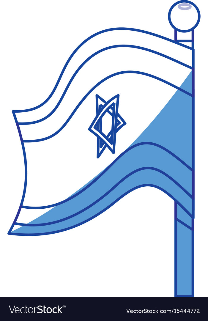 Israel of flag