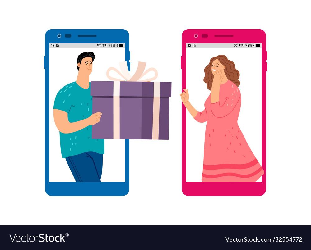 Online gift service