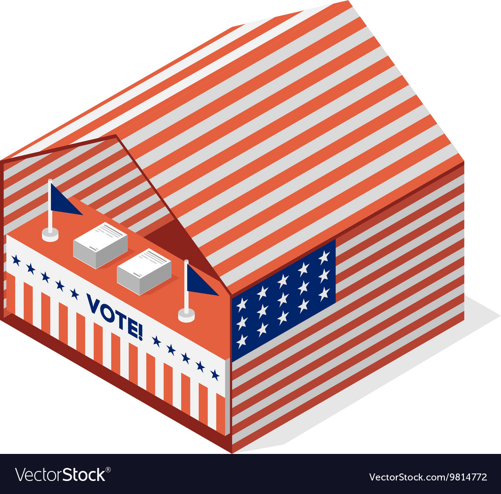 Tent for a vote United States presidential
