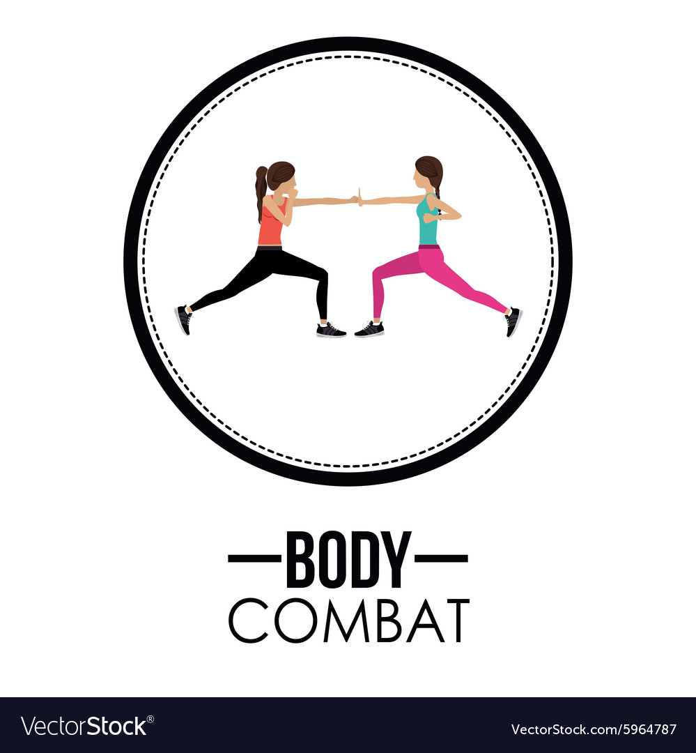 Bodycombat design vector image