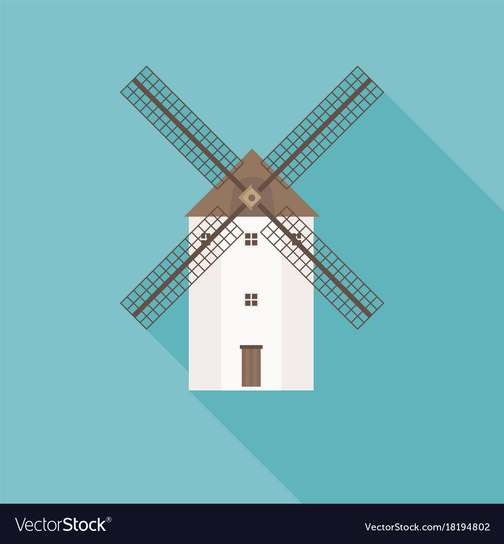 Traditional spain wind mill