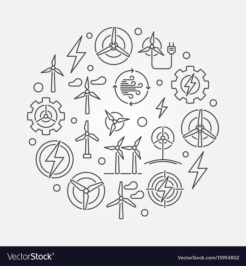 Wind energy circular
