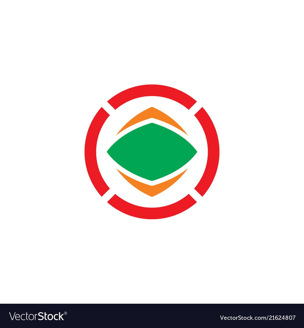 Abstract circle business logo