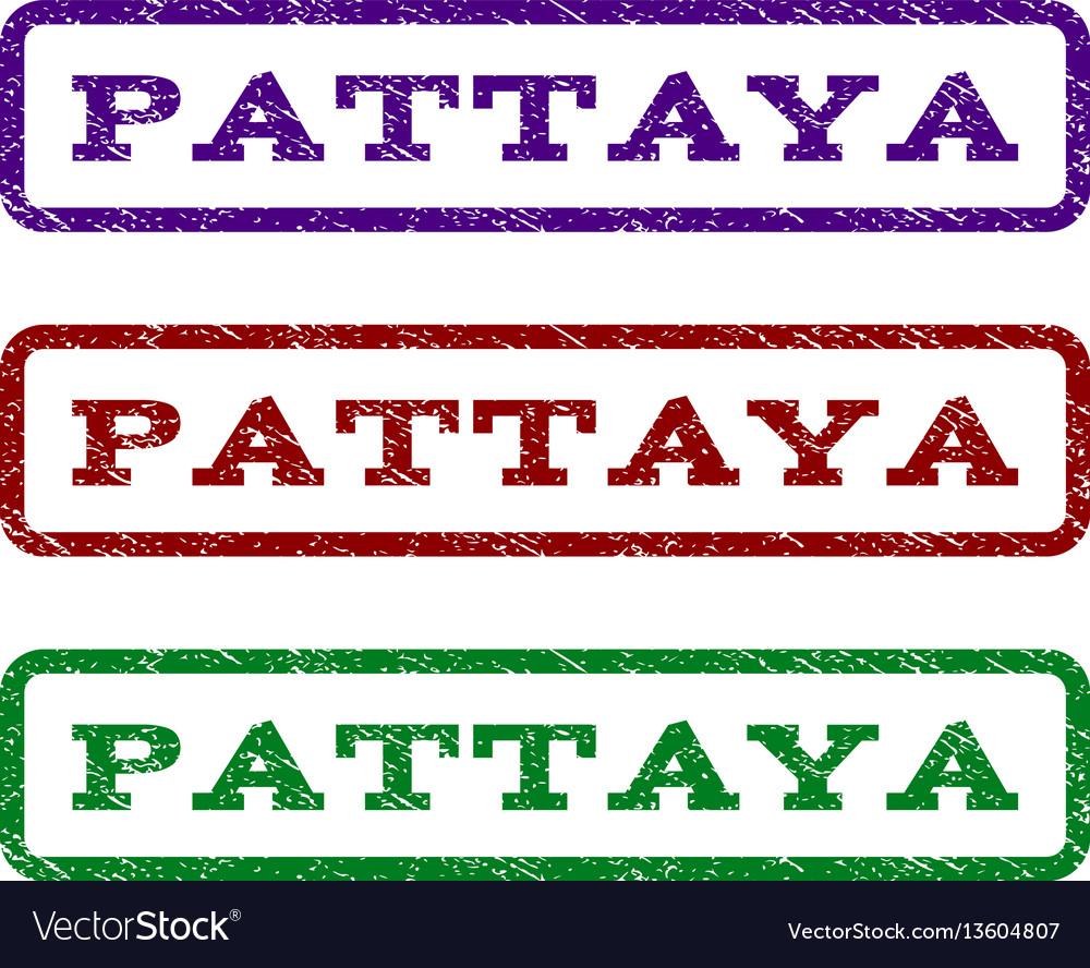 Pattaya watermark stamp
