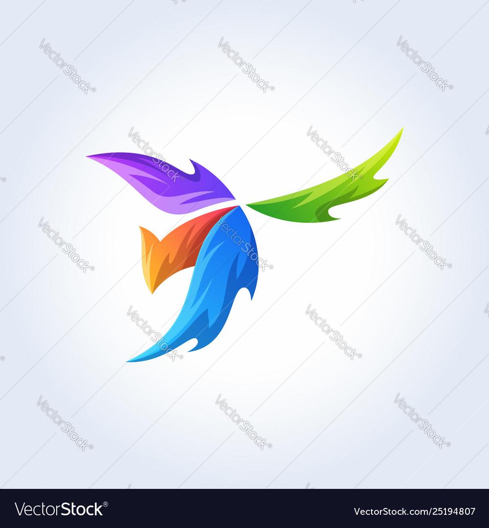 Phoenix logos elements template