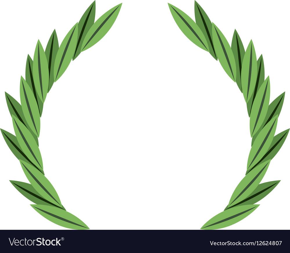 Wreath crown frame icon