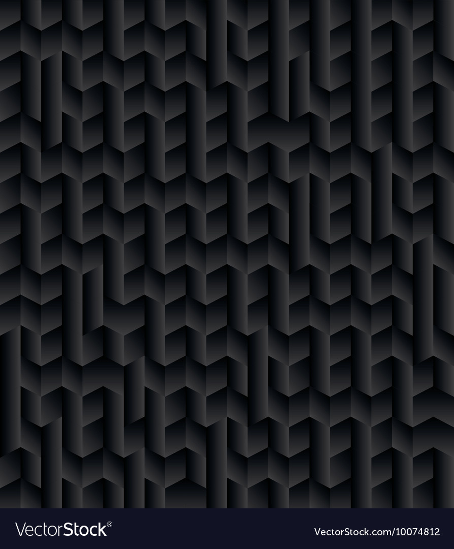 Black 3d Texture Abstract Background