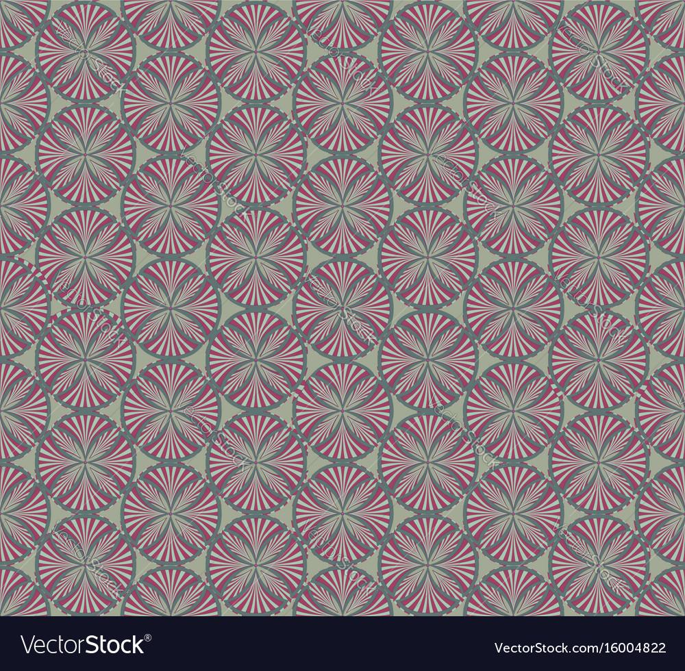 Abstract fabric ornament geometric line seamless
