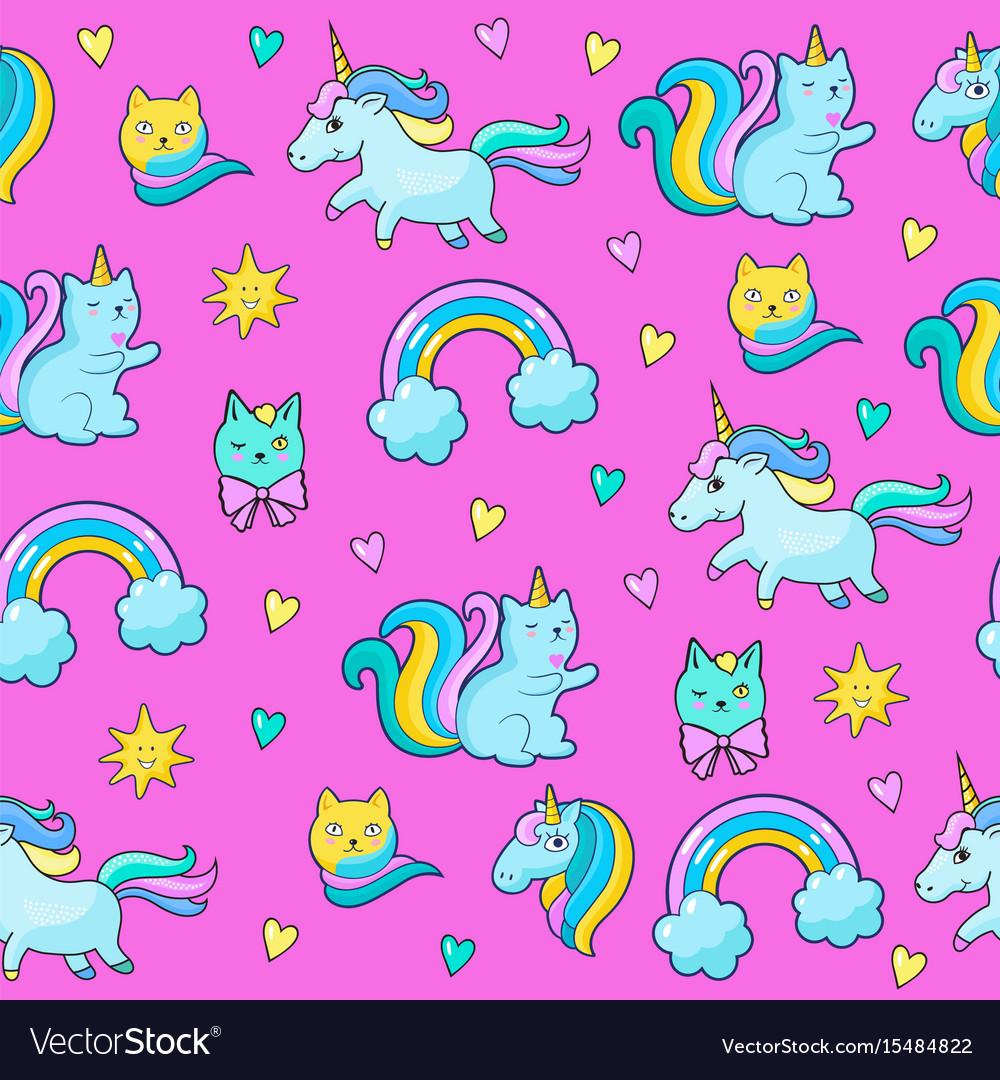 Pop art style stickers vector image