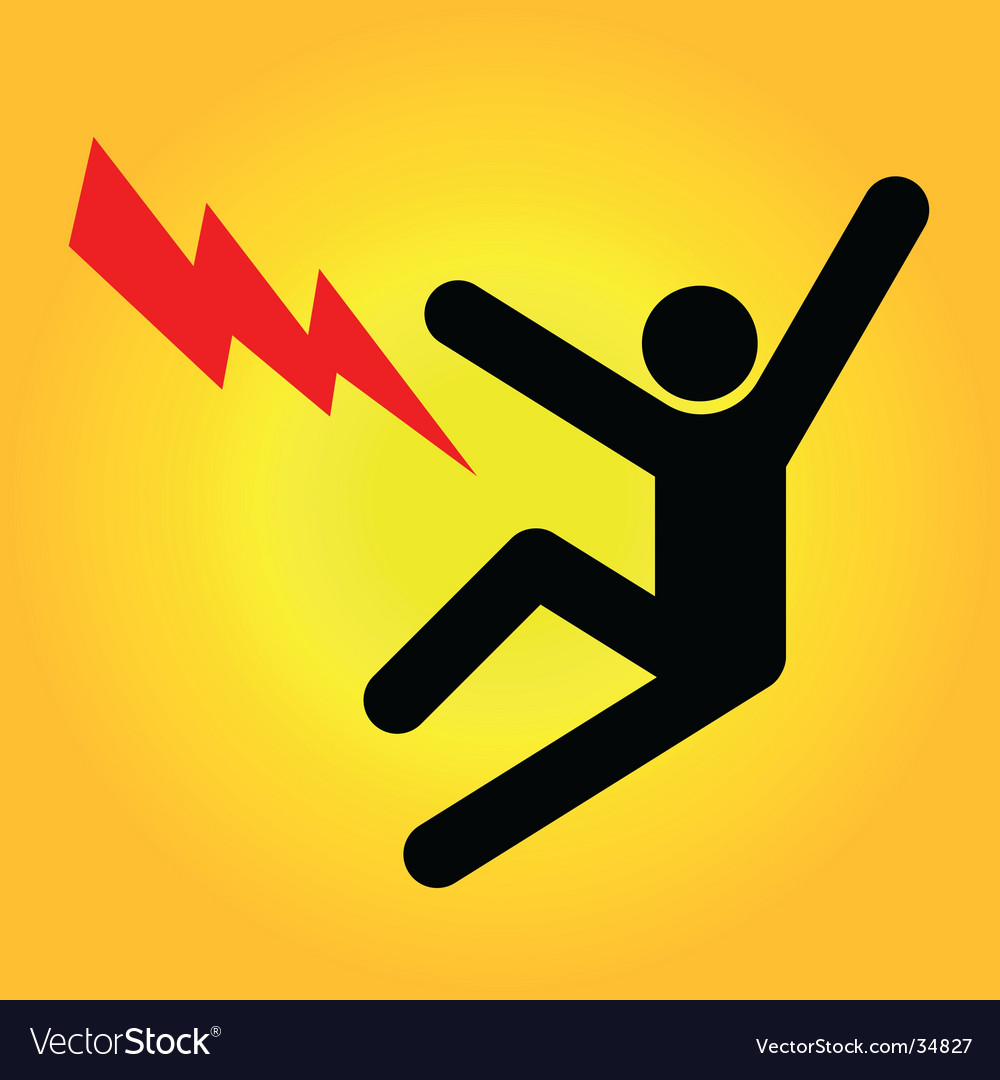 Danger sign high voltage