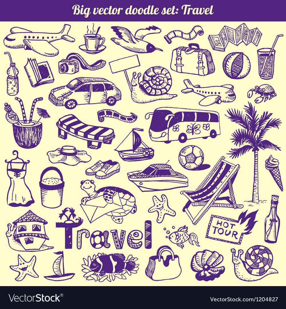 Travel Doodles Collection