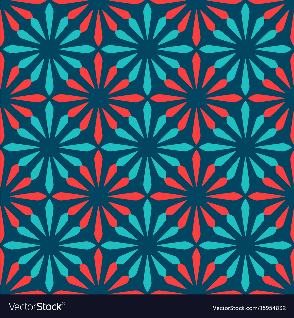 Spanish Ornamental Ceramic Tile Royalty Free Vector Image