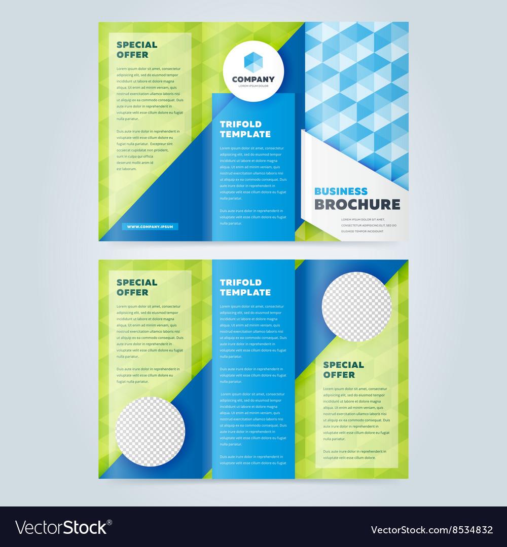 Trifold Business Brochure Design Template