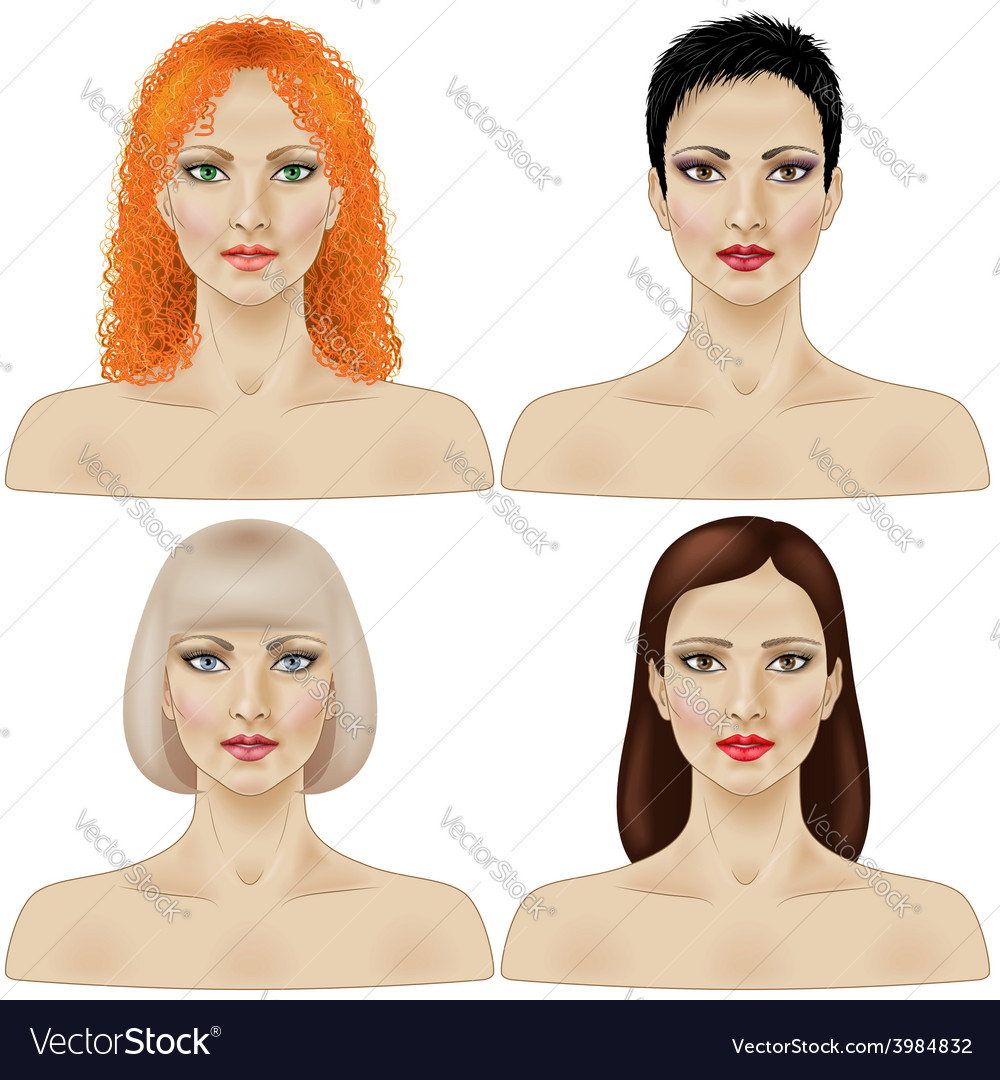 Women faces