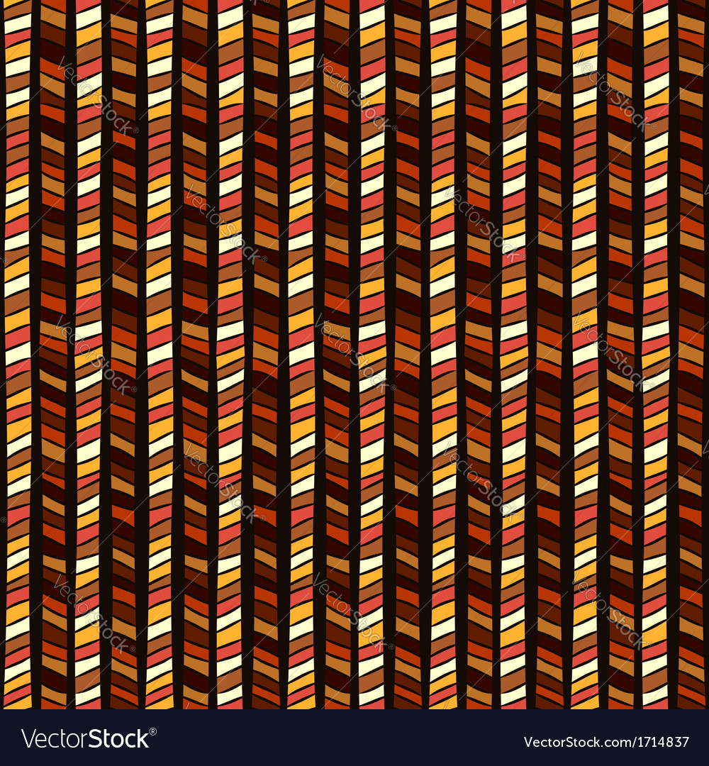 Ethnic geometric seamless pattern