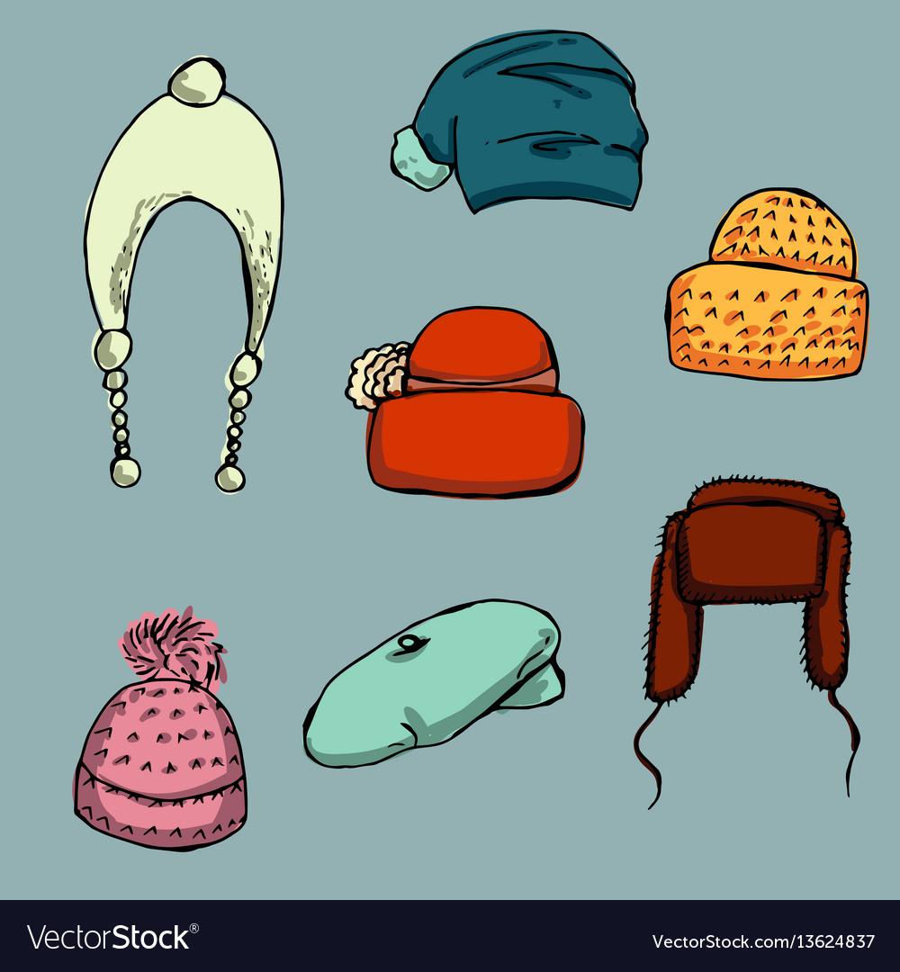 Fashion set graphic style
