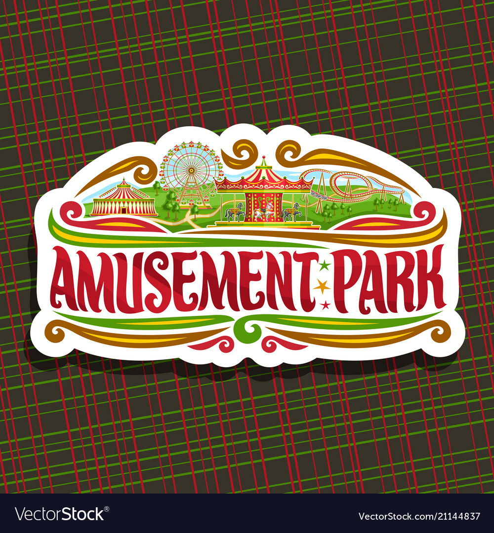 Logo for amusement park