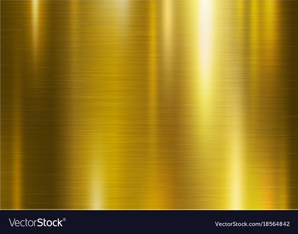 Gold Metal Texture Background Royalty Free Vector Image