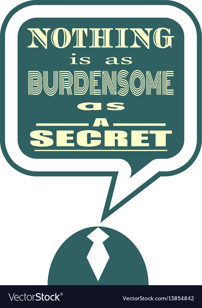 Quote text bubble motivation phrase