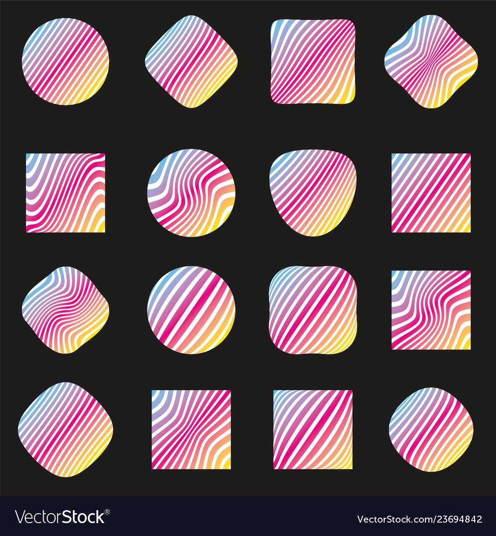 Set of labels pattern