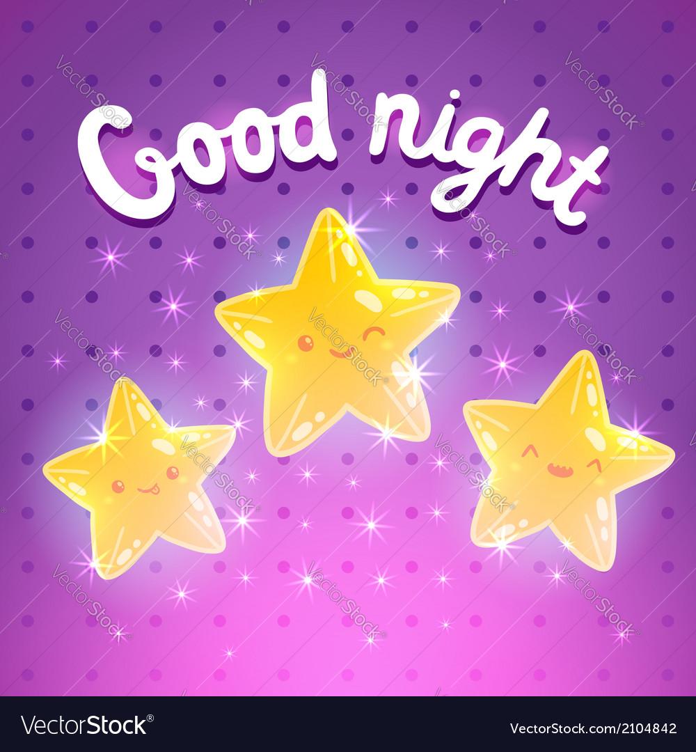 Star background Good night