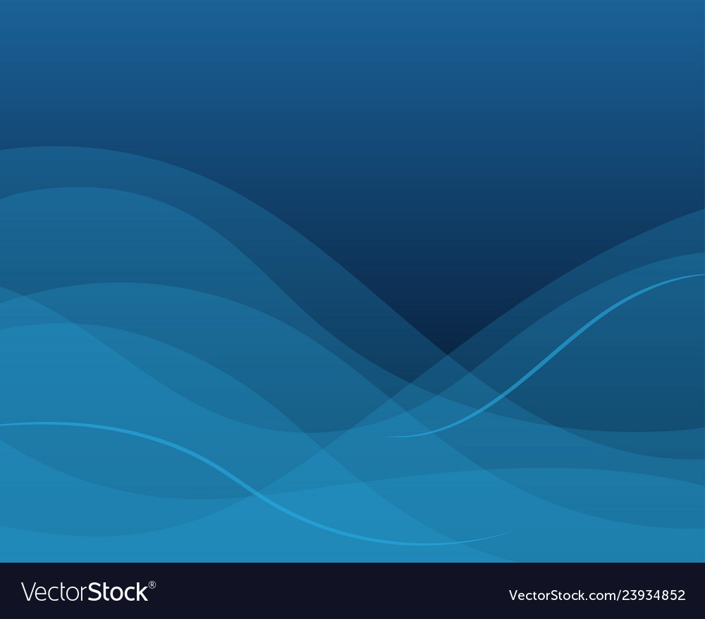 Blue wave concept abstract background