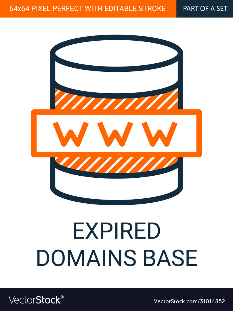 Expired domains base simple outline
