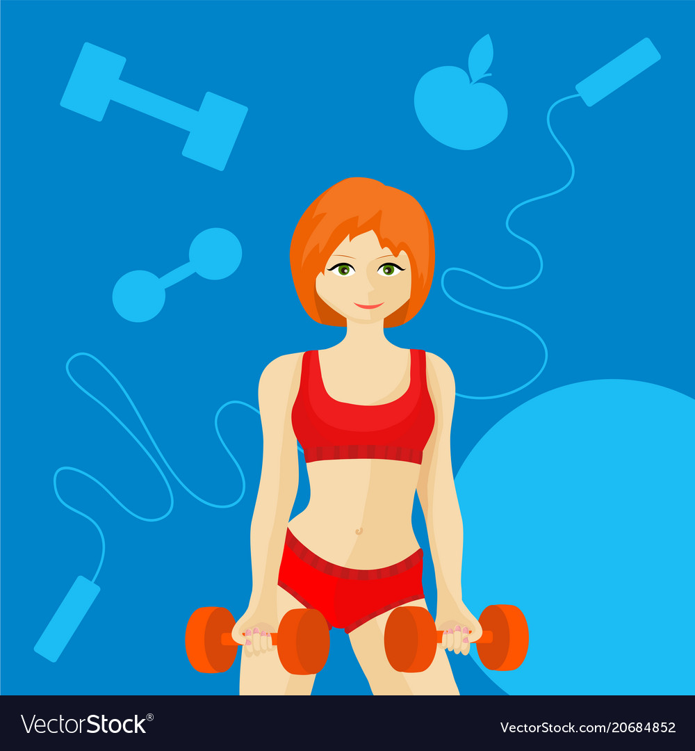 Have Redhead female fitness girls the same