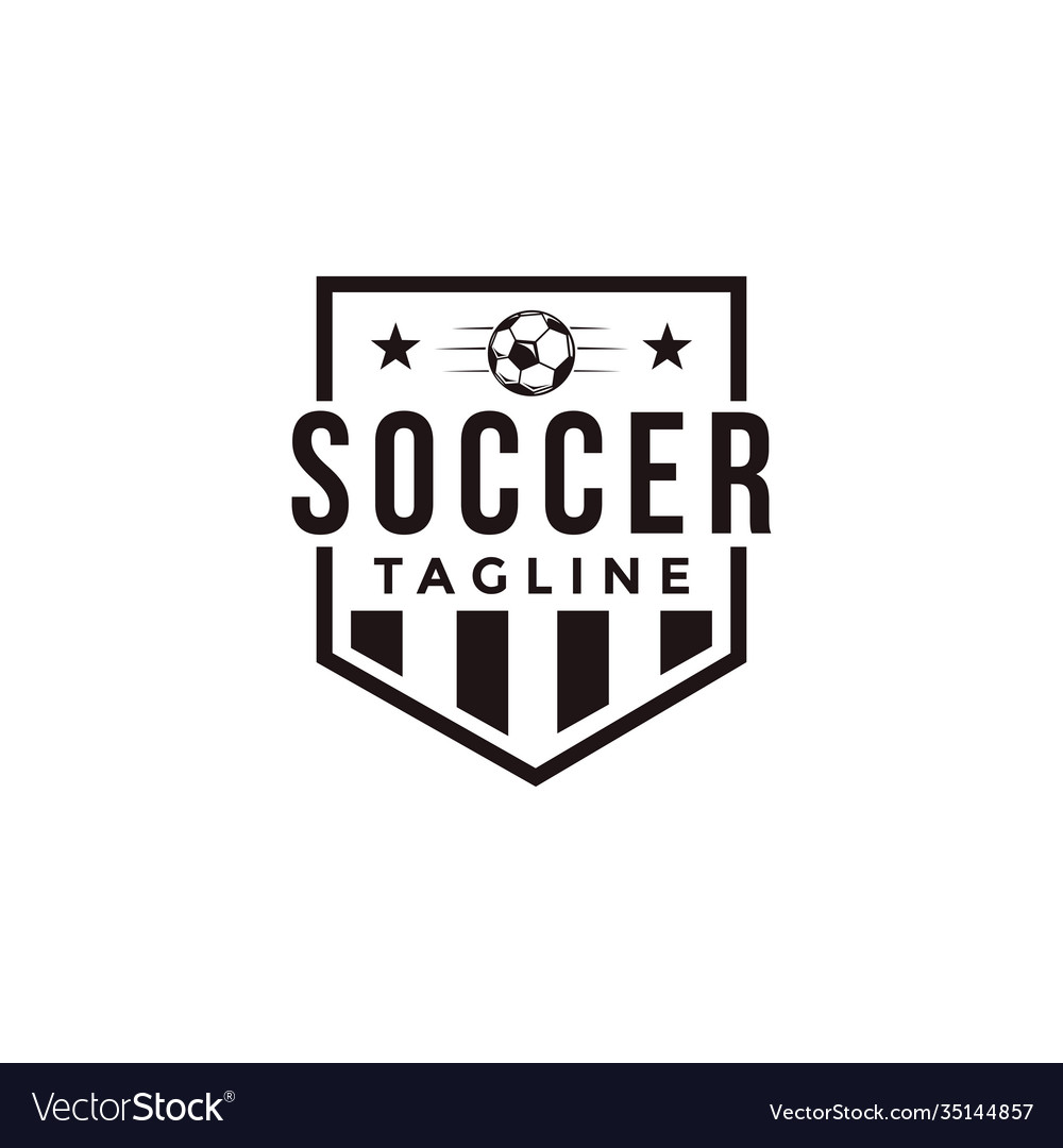 Badge football soccer sport team league logo