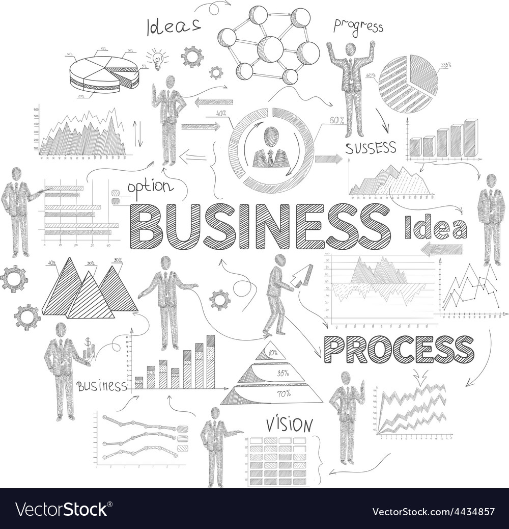 Business Concept Sketch