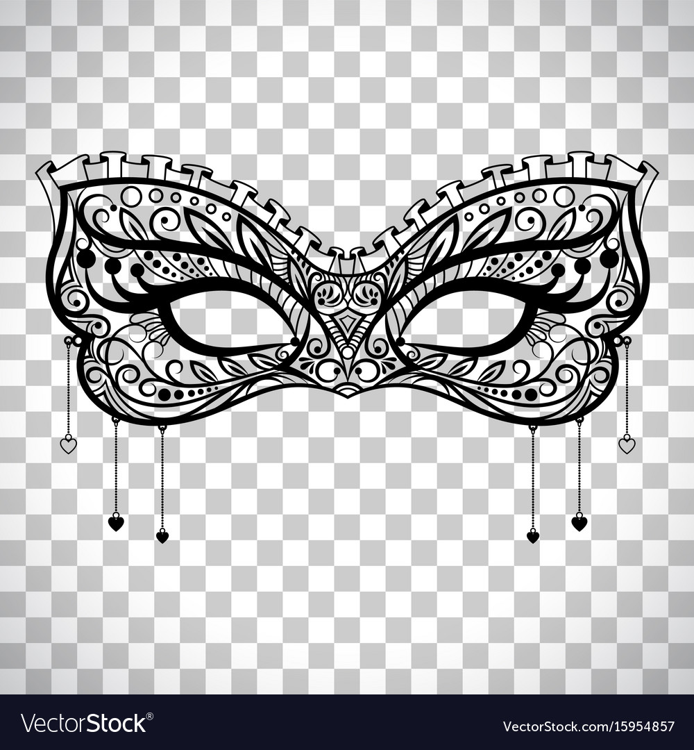 Beautiful, Gras, Lace, Mardi & Mask Vector Images (33)