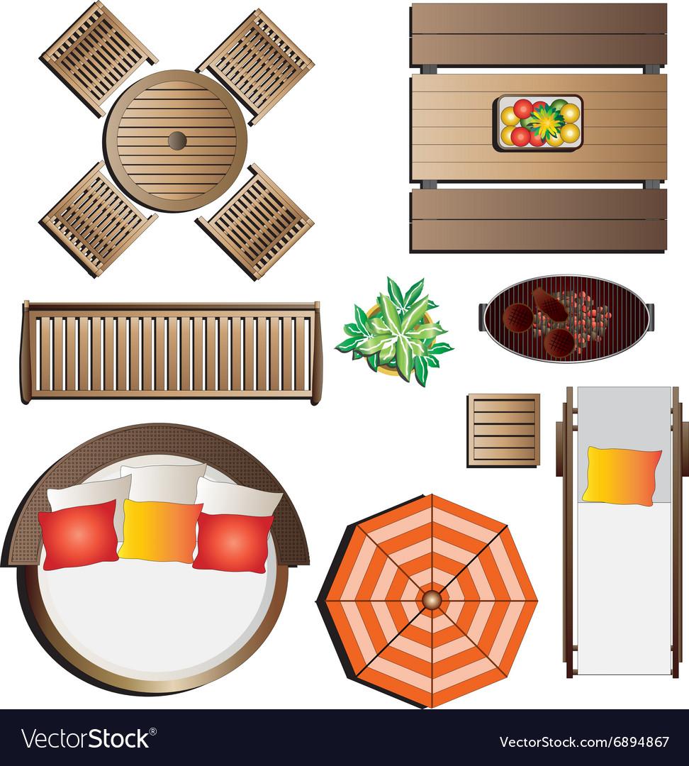 Outdoor Furniture Graphic Design