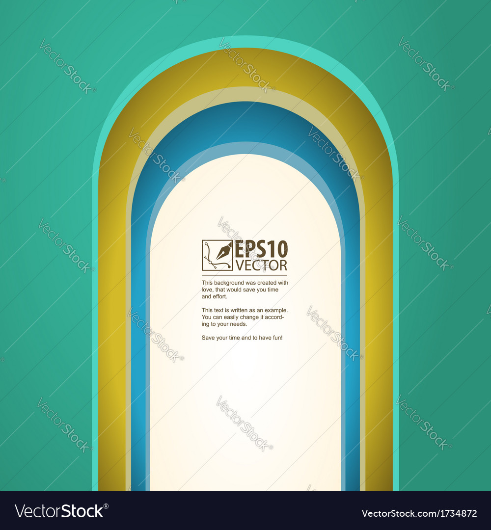 Arch background with arches