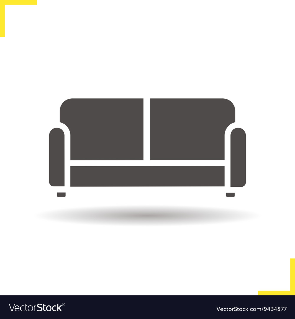 Couch Icon Royalty Free Vector Image Vectorstock