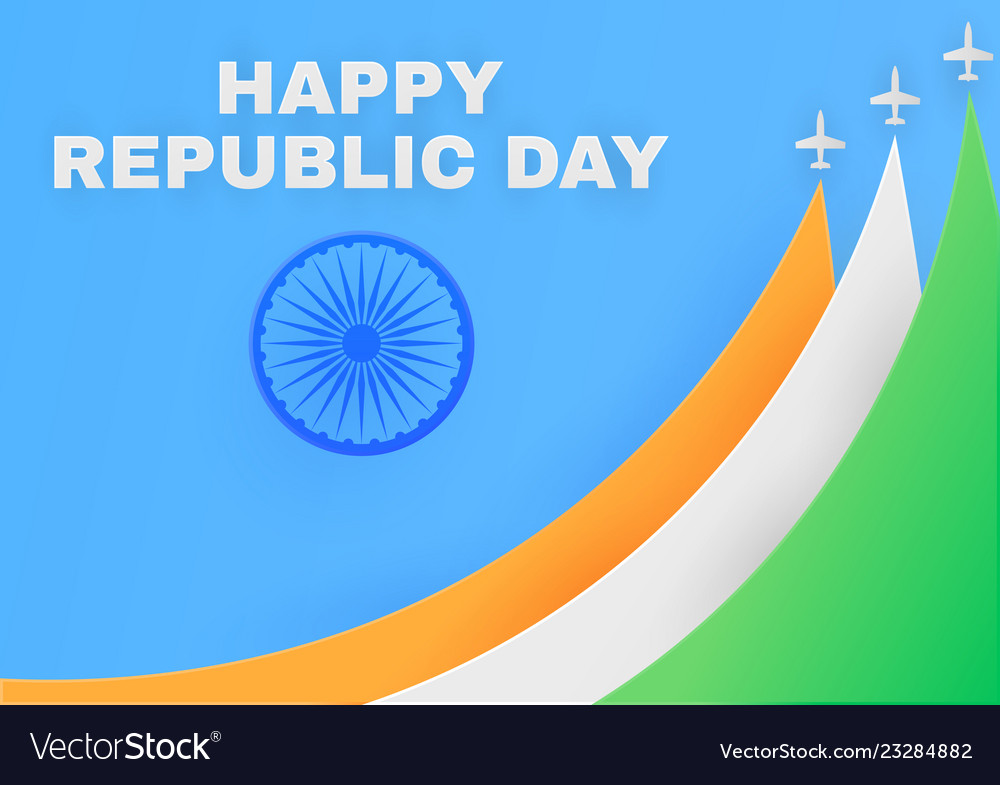 Republic day in india poster