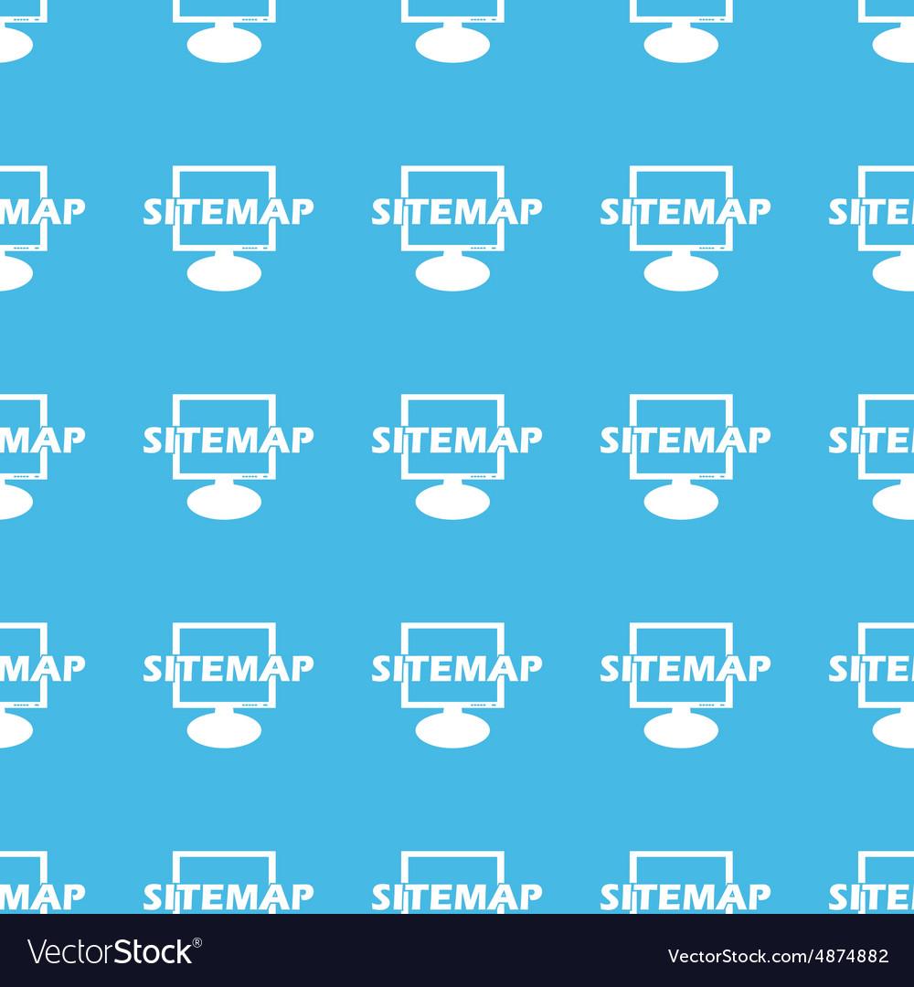 Sitemap straight pattern