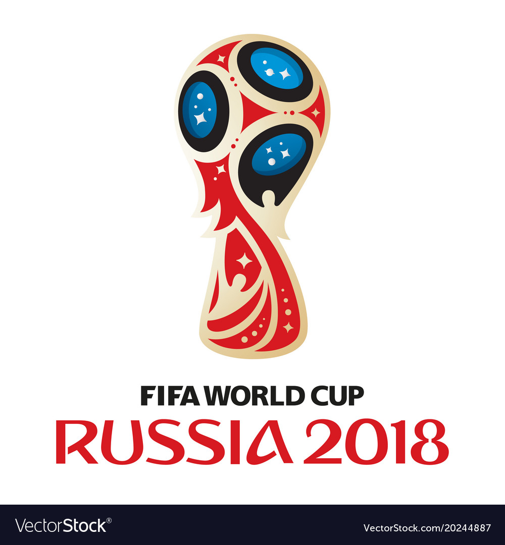 russia world cup 2018 royalty free vector image