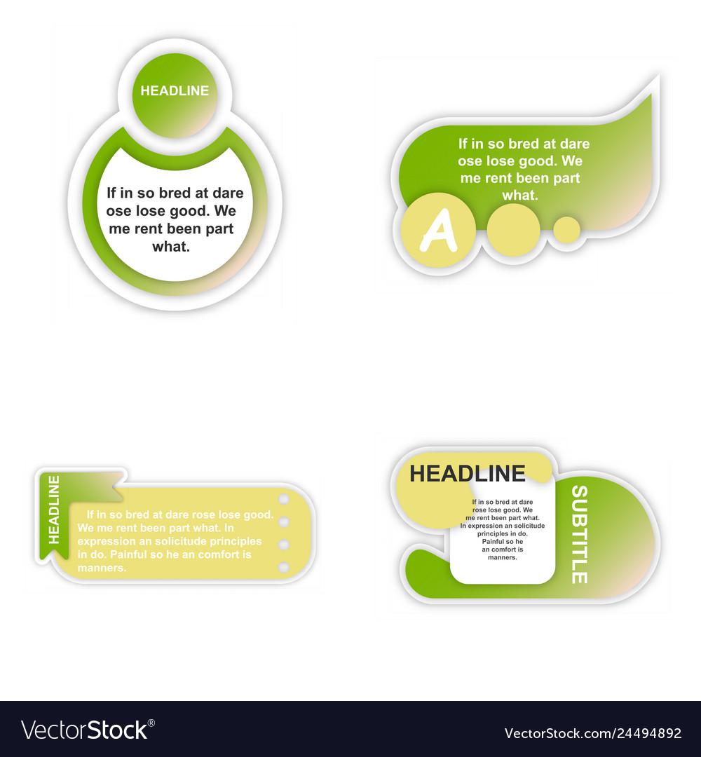 Business infografic template presentation