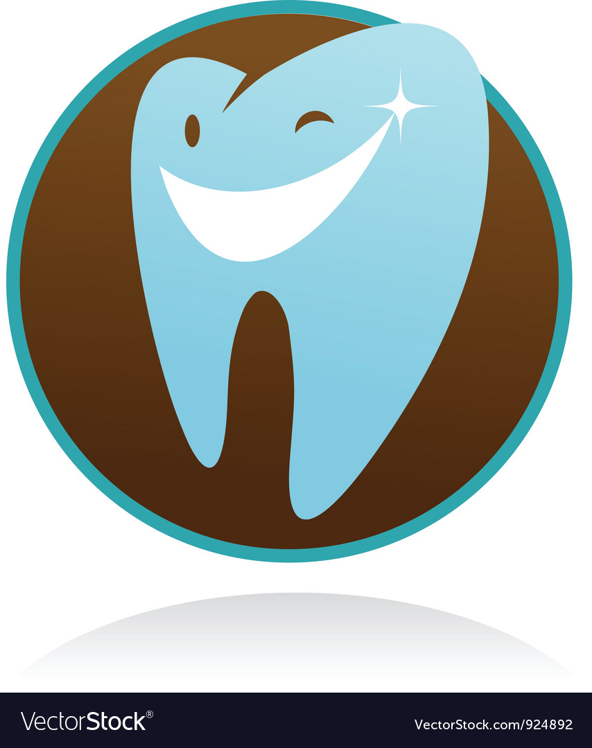 Dental clinic icon - smile tooth