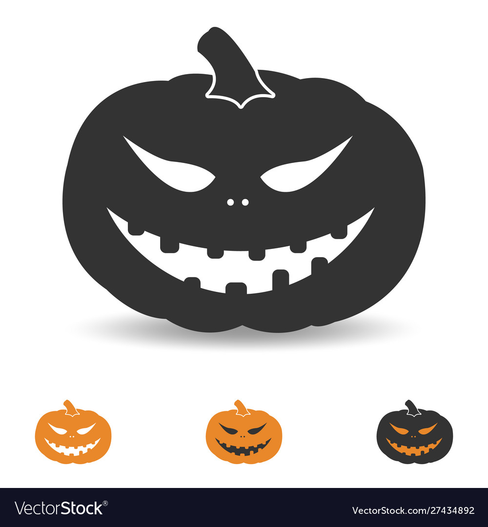 Halloween pumpkin for party and