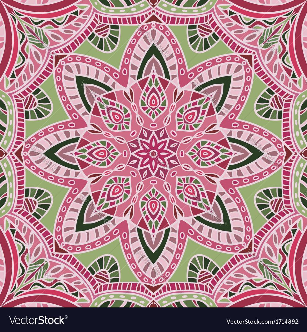 Hand-drawn colored bandana