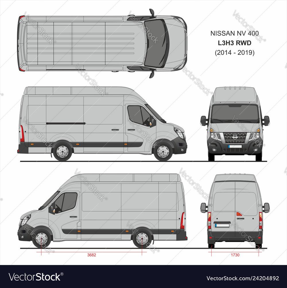 Shop für Beamte Neupreis Geschäft Nissan nv400 cargo delivery van l3h3 rwd 2014-2019