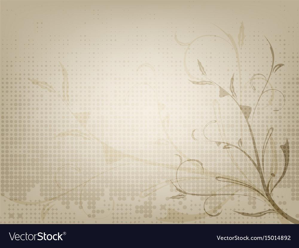 Vintage ornamental old paper background
