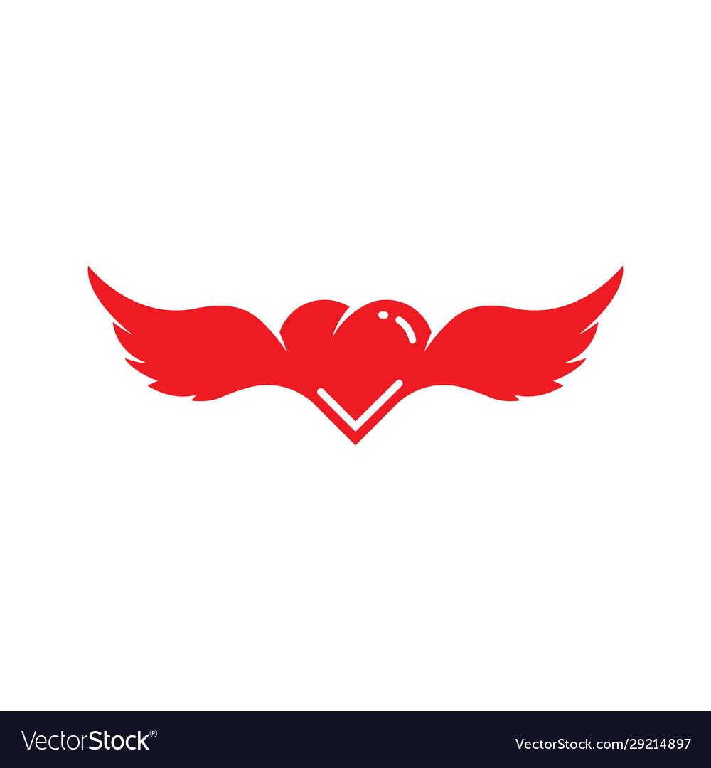 Angel love icon