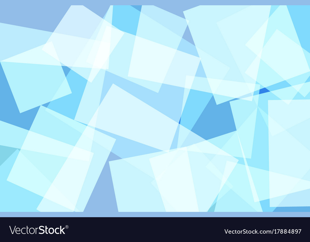 Light blue square abstract background