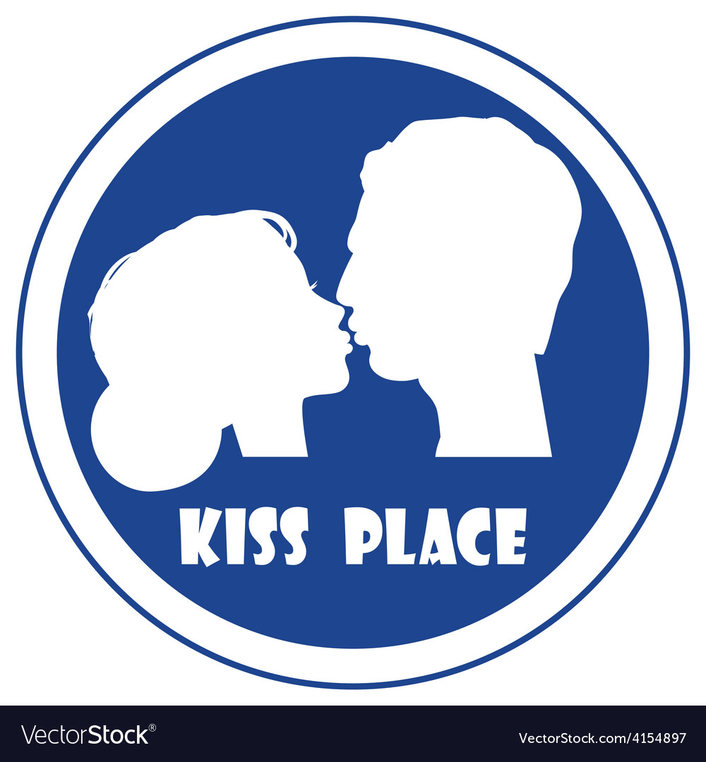 Special place for a kiss