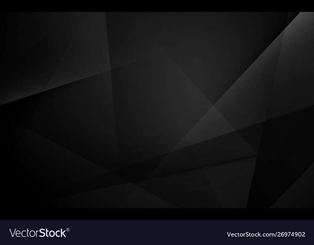 Abstract black geometric dynamic presentation
