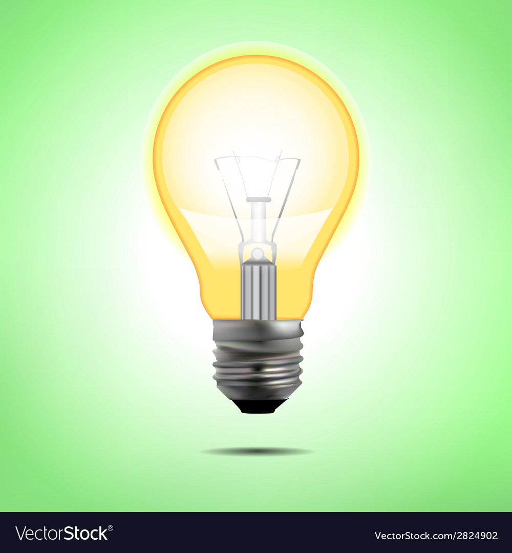 Incandescent electric lamp in format